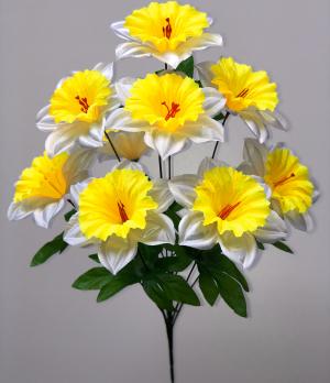"""Искусственные цветы """"Нарцисс атлас"""""""