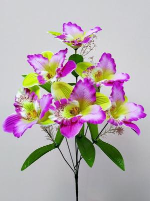 Искусственные цветы «Орхидея лист»