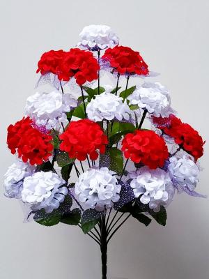 Искусственные цветы «Калинка вуаль»