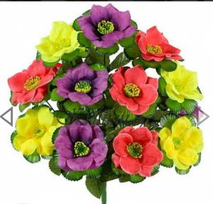 Искусственные цветы « Микс»