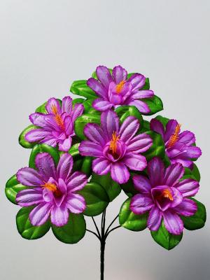 Искуственные цветы «Нарцисс с поддоном»