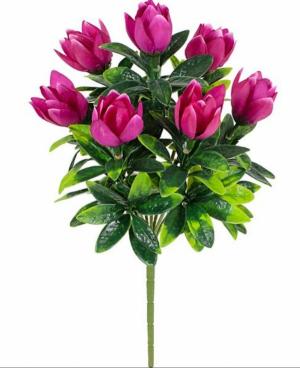 Искусственные цветы «Тюльпанчик с пластиком»