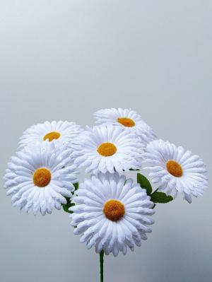 Искусственные цветы «Ромашка плоская»