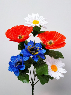 Искусственные цветы «Полевые»
