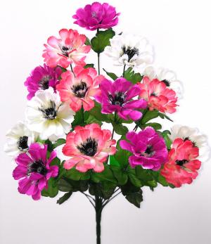 """Искуственные цветы """"Герания с вставкой"""""""