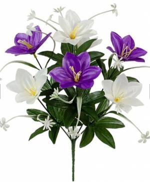 Искусственные цветы «Лилия атлас»