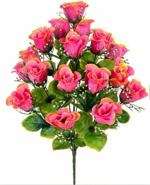 Искусственные цветы «Бутон зелень»