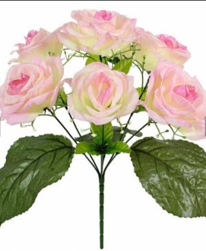 Искусственные цветы «Роза куст с добавкой»