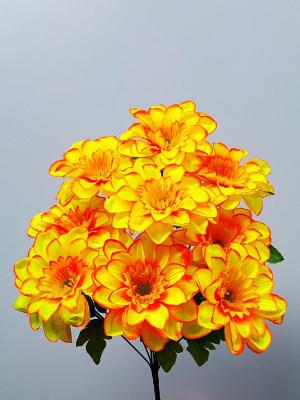 Искусственные цветы «Далия рик»
