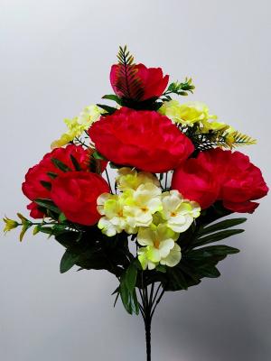 Искусственные цветы «Пион грона»