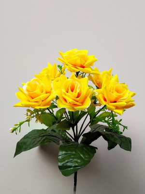 Искусственные цветы «Розочка куст»