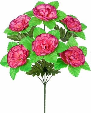 Искусственные цветы «Камелия лист»