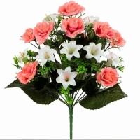 Искуственные цветы «Роза-лилия»