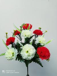 Искусственные цветы «Гвоздика Крок»