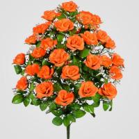 Искусственные цветы «Роза огромная»
