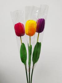 Искусственные цветы «Тюльпан большой ветка»