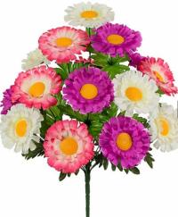 Искусственные цветы «Гербера цветная»