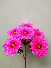 Искусственные цветы «Чёрный вий атлас»