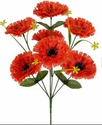 Искусственные цветы «Маргаритка мак»